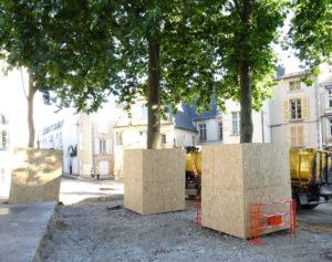 protection d'arbres au chantier