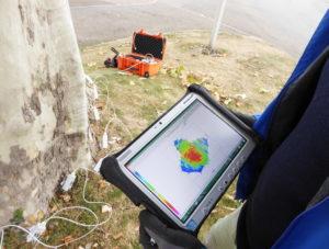 arbre et tomographie à ondes sonores